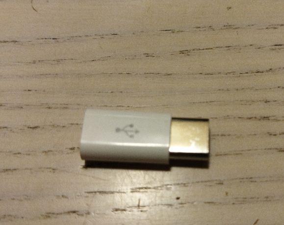 Переходник micro USB- USB C