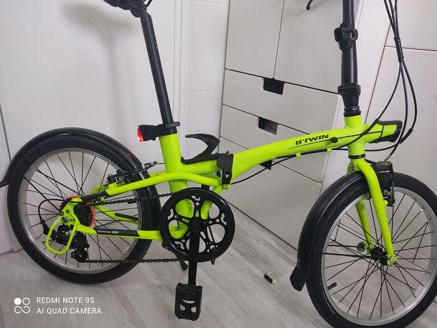Bicicleta dobrável desdobrável btwin tilt 500 em excelente estado