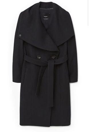 Пальто  Mango Zara Massimo Dutti шерстяное двубортное