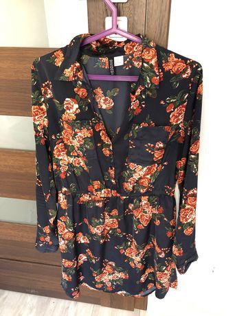 Tunika koszulowa ciążowa H&M r.40