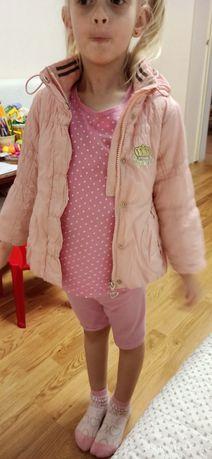 Демісезонна осіння курточка куртка для дівчинки