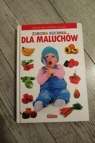 Książka Zdrowa Kuchnia dla maluchów stan bardzo dobry