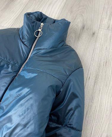 Осеняя куртка, короткая куртка, куртка с кольцом