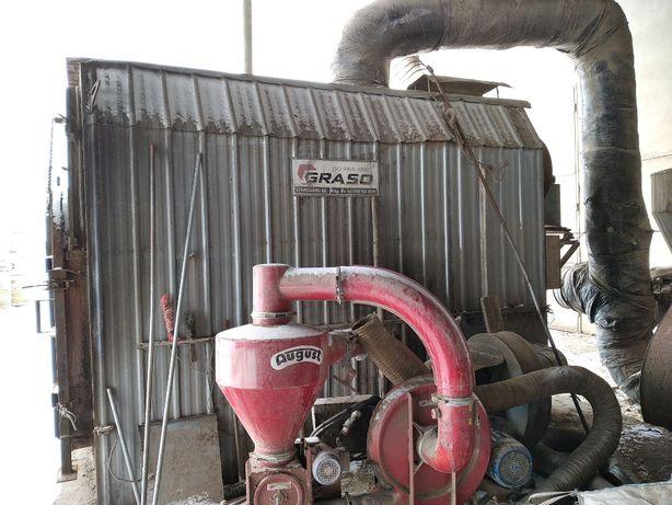 Piec nagrzewnica na słomę do suszarni Graso NPA 500 Pedrotti