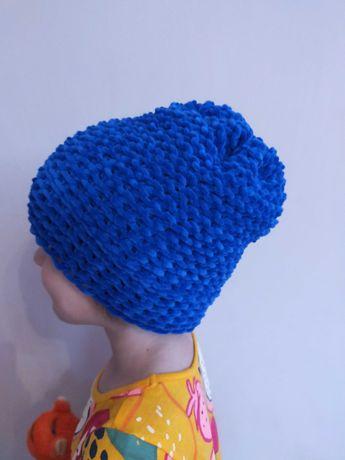 Ręcznie robiona czapka dziecięca/damska