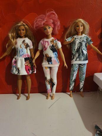 Dres / sukienka dla lalki Barbie -  krecik , peppa, konie
