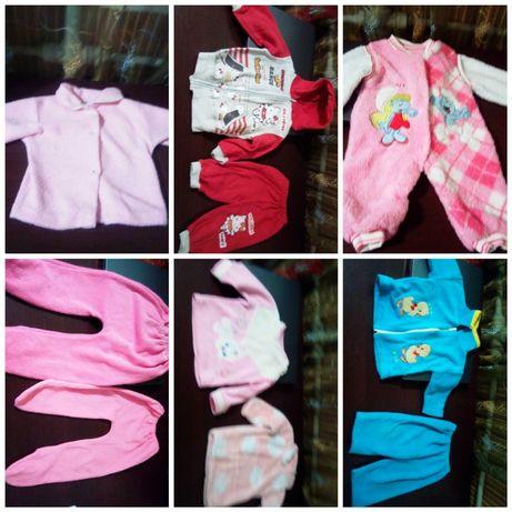 Пакет вещей на новорожденную девочку!  Бесплатная доставка!