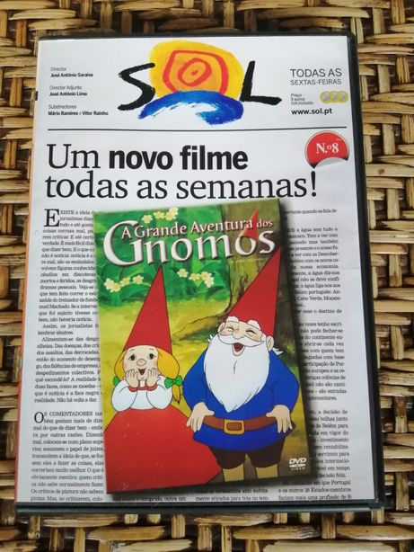 DVD A Grande Aventura dos Gnomos