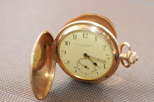Карманные золотые часы, IWC(Schaffhausen)