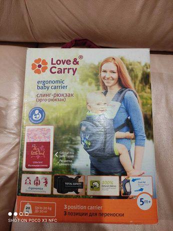 Эрго-рюкзак Love&Carry новый !