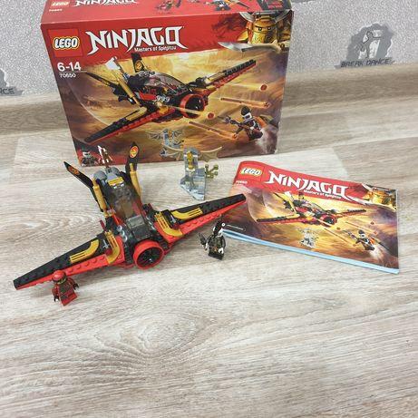 Оригинал! LEGO Ninjago 70650 крыло судьбы подарок мальчику