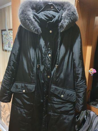 Пальто зимове 60 розміру