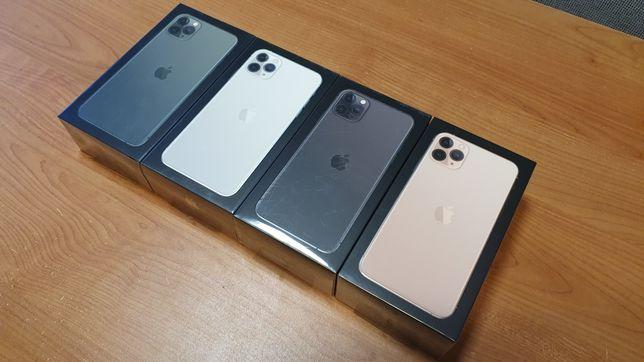 iPhone 11 PRO MAX 64GB Green, Gold, Silver, Space Gray z PL GW W-wa