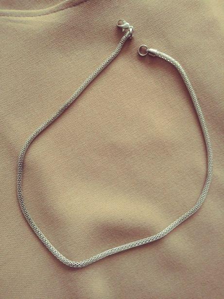 Łańcuszek okrągły wisiorek gruby
