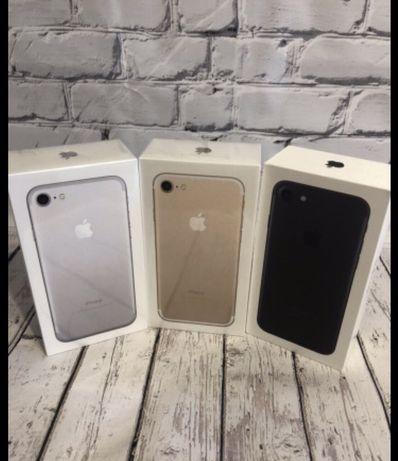 Новый IPhone 7 128/32 Gb • Gold Rose Black • Неверлок • Гарантия 1 год