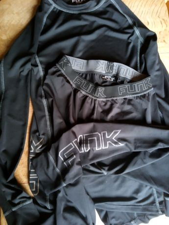 Odzież termoaktywna koszulka spodnie r. S Funk