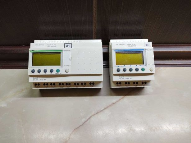 Интеллектуальные реле Schneider Zelio Logic SR2 B201FU и SR2 B121FU