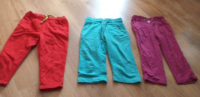 Spodnie materiałowe 98