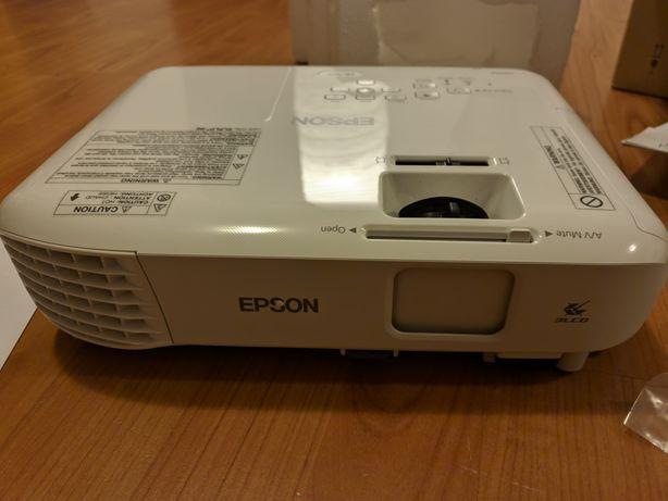 Projektor EPSON SVGA EB-S05 Gwarancja i Ubezpieczenie do 2022r