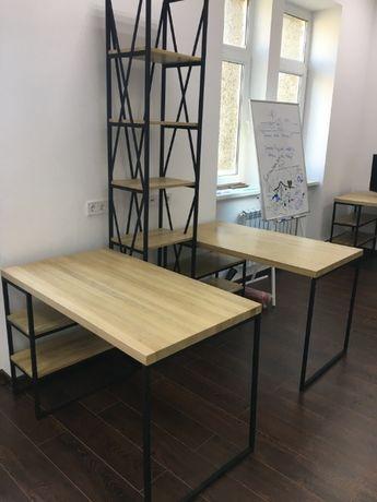 Изготовление мебели в стиле Loft из натурального дерева
