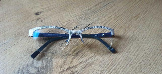 Okulary korekcyjne ramki Tonny -0,5 -0,25 super stan.
