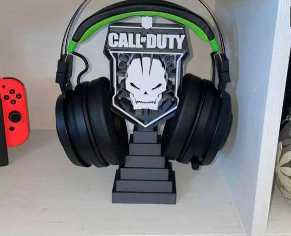 Suporte para HeadPhones Call of Duty,  Star Wars,  Iron Man, Apex, BTS