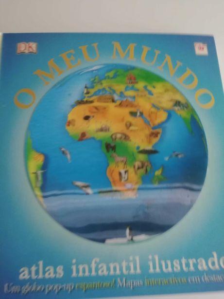 """Livro Pop-up """"O meu mundo"""", ed. civilização"""