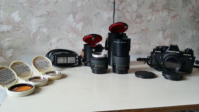 Zestaw dla pasjonata lub kolekcjonera fotografi analogowej