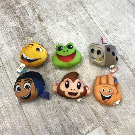Скидка 20 %! Emoji movie смайлы из Макдональдса игрушки смайлики