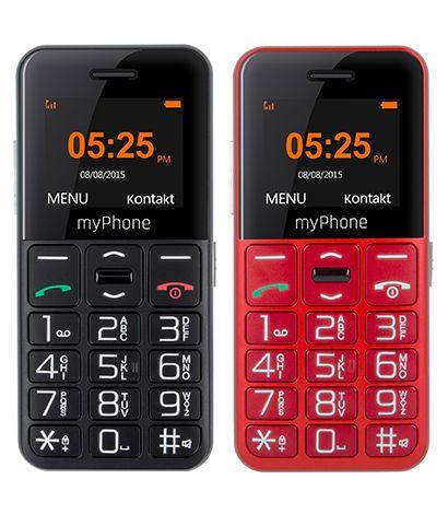 Prosty Telefon dla Seniora MyPhone Halo EASY * NOWY GW24