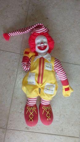 Boneco Original Ronald McDonald, com Som de Dormir.