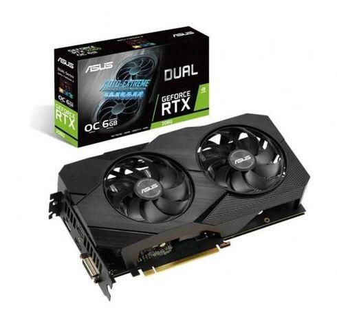 Karta graficzna Asus GeForce RTX 2060 DUAL OC 6G EVO GDDR6 192BIT FV