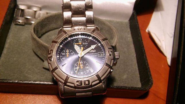 Zegarek Seiko chronograph