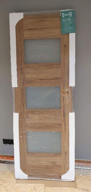 Nowe drzwi wewnętrzne Porta - okazja + kpl opasek do ościeżnicy