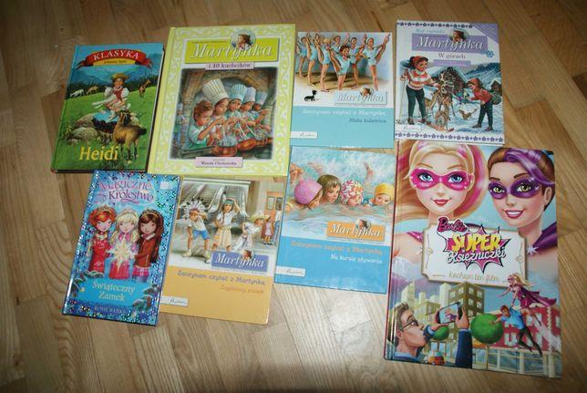 Martynka i pływanie zestaw książek Barbie komiks