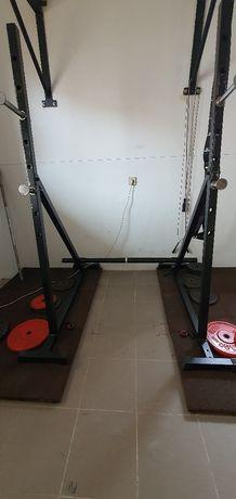 Squat Rack musculação/suporte barra