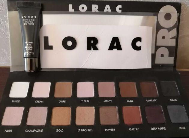 Профессиональные тени Lorac pro + база