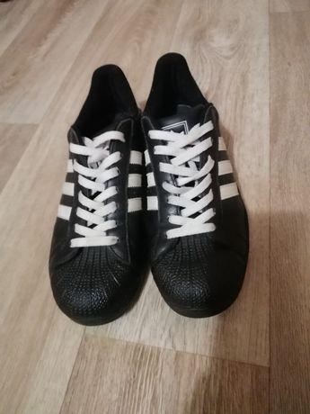 Мужские кожаные кроссовки Adidas Superstar Original. 42p. 26.5 см.‼️‼️