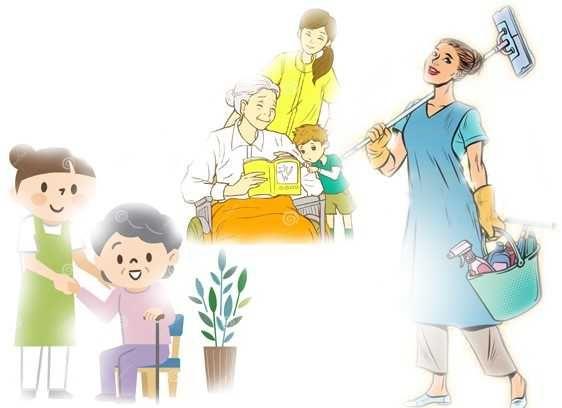 Limpezas da sua casa ou local de trabalho/Cuidadora Idosos/Crianças