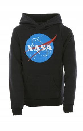 Bluza CZARNA NASA długi rękaw 152, 146