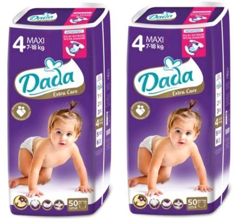 Фиолетовые! Подгузники Dada Premium Extra Care Дада Премиум