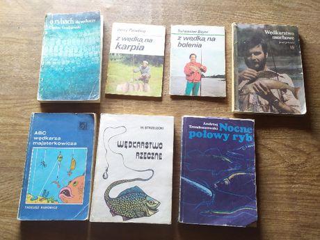 Wękarstwo, ryby - zestaw książek o wędkarstwie