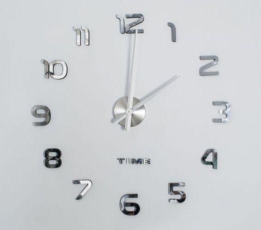 Часы настенные 3D 60-130см диаметр годинник настінний 3д