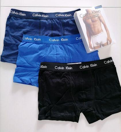 Bokserki męskie Calvin Klein 3-pack nowe S, M, L, XL prezent
