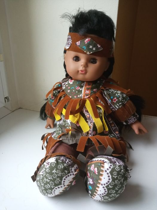 Lalka indianka 30 cm Środa Wielkopolska - image 1
