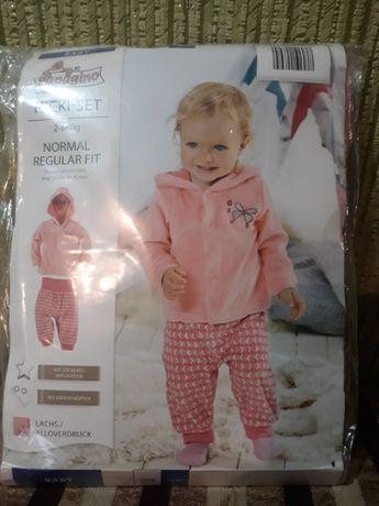 детский велюровый костюм