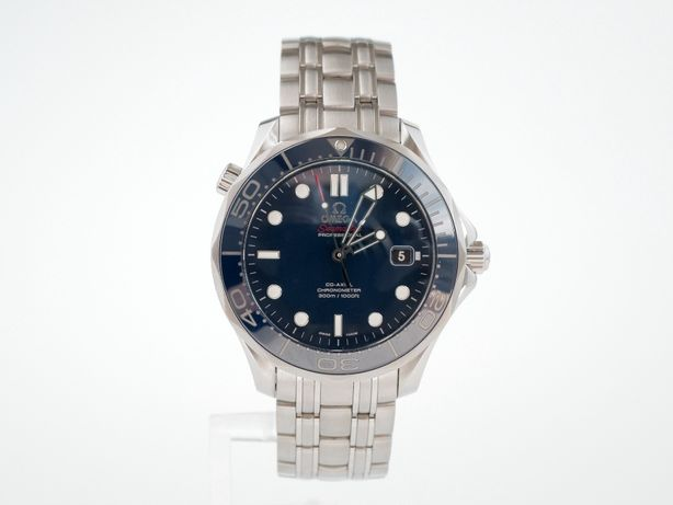 Omega Seamaster Diver 300m Co‑Axial 41mm Blue Ceramic