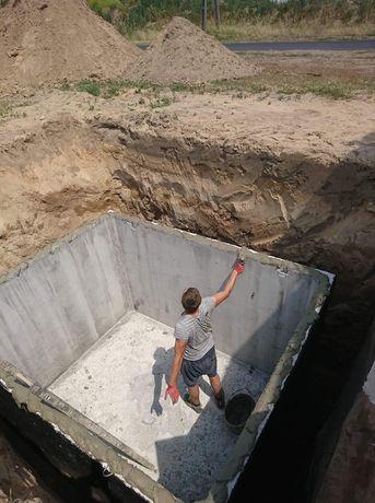 SZAMBO szamba betonowe na wodę opadową 10m Warszawa Piaseczno Siedlce
