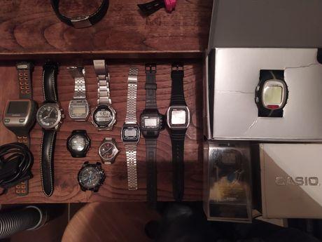 Relógios Casio Seiko Polar