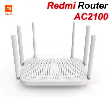 Новый гигабитный роутер Router Xiaomi Redmi AC2100 2.4 ГГц 5